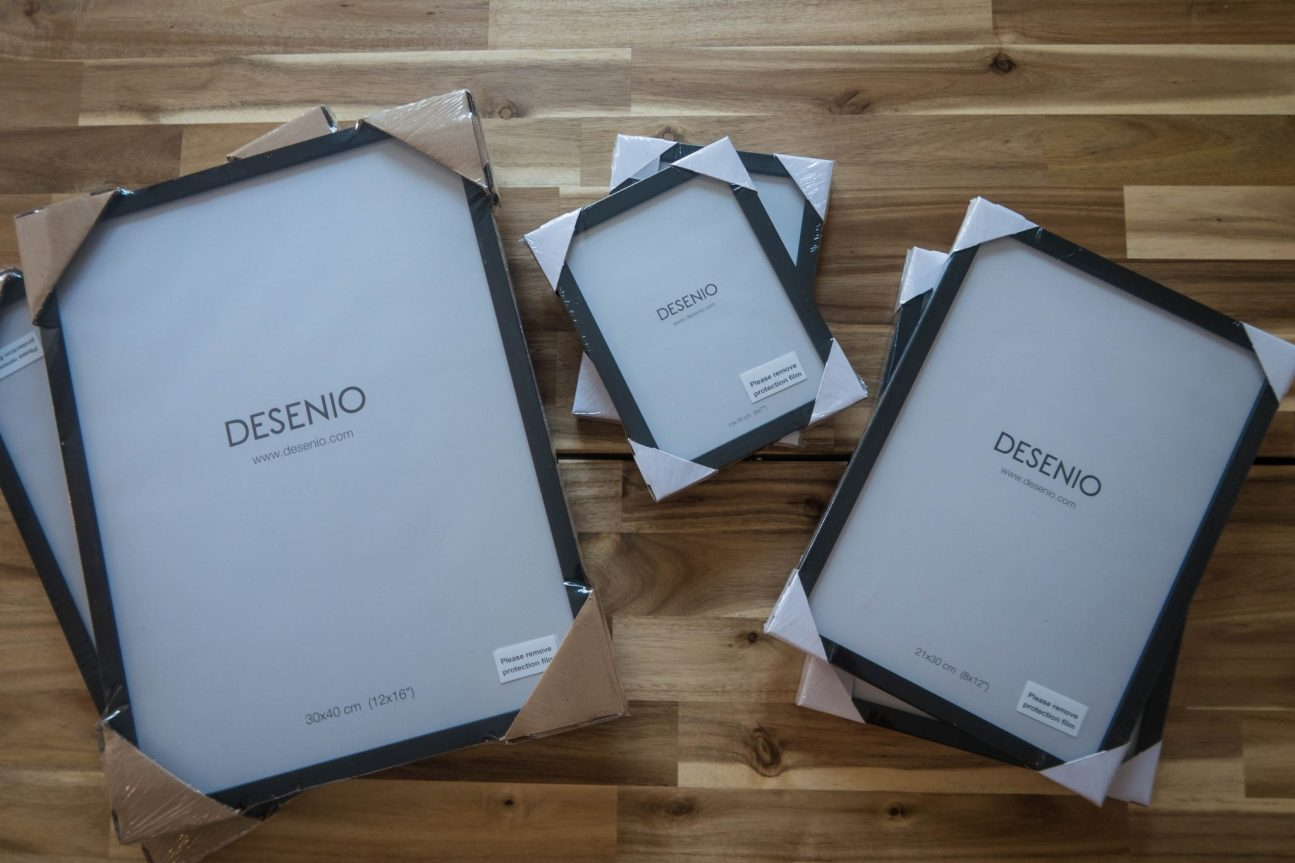 Scandinavian Design with Desenio - frames