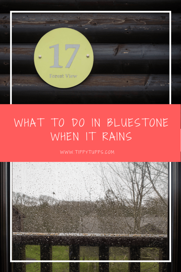 The family holiday is booked but what do you do when the rain arrives? Here's the answer as to what there is to do at Bluestone Wales when it rains.