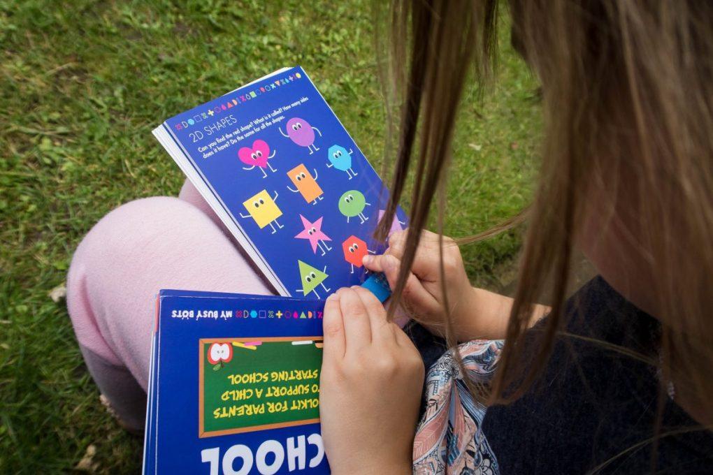 The School Starter Kit in use