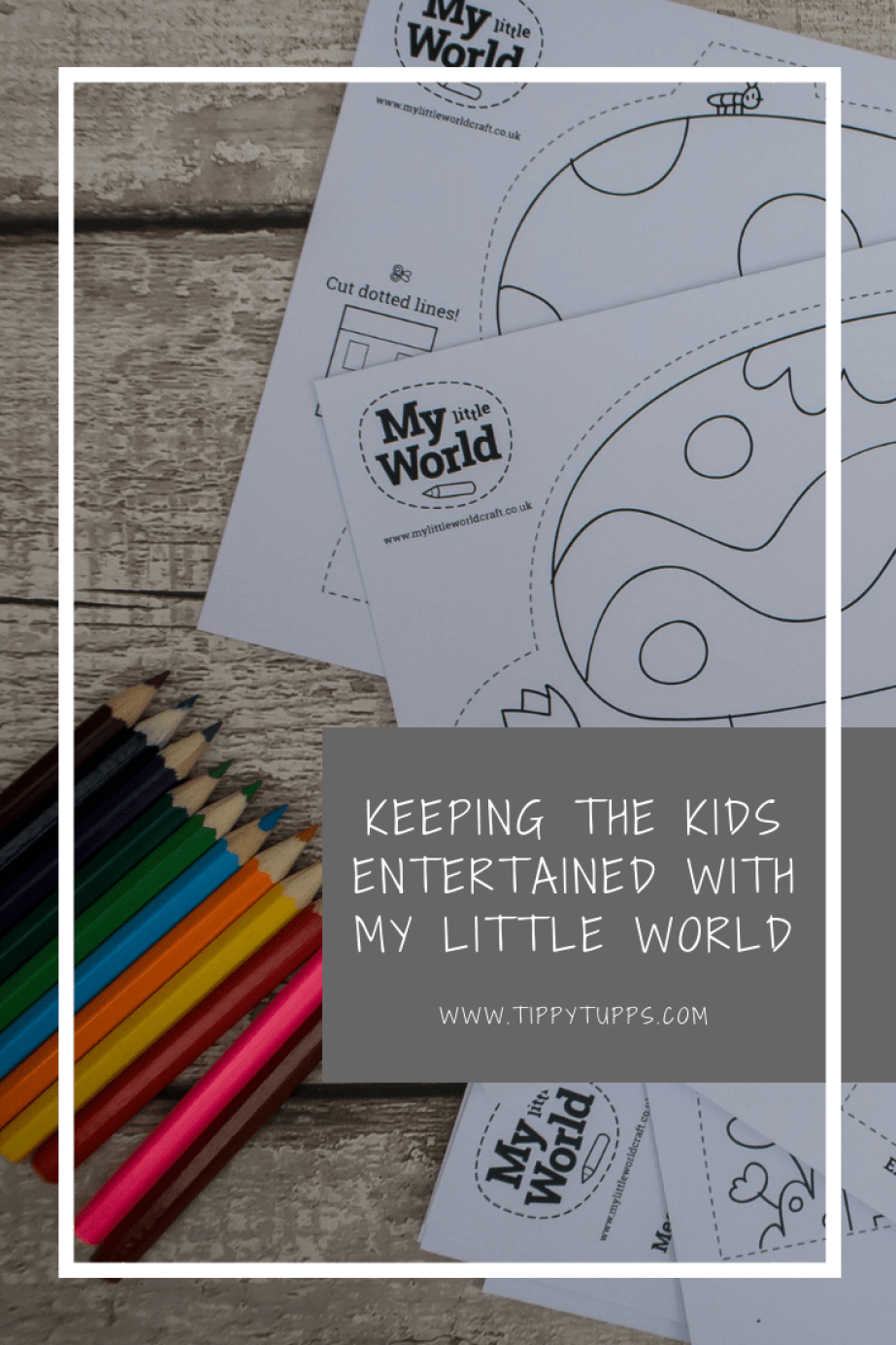 The My Little World's are packed full of beautiful illustrations ready for little ones to create and explore using nothing more than paper and pencils. Great for craft loving, creative children.