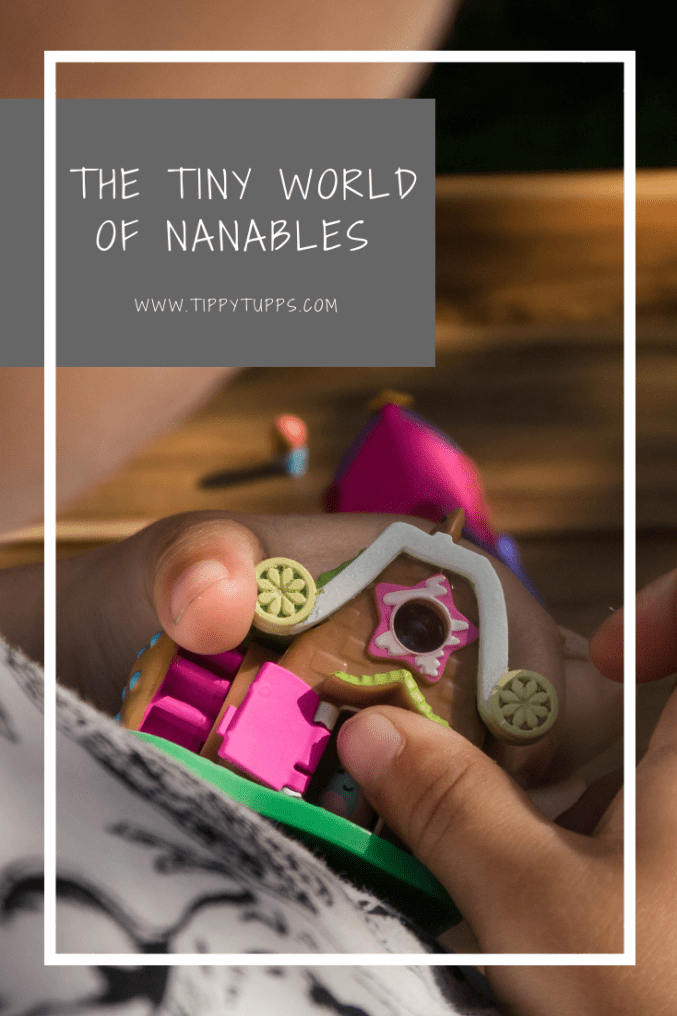Nanables are the new must have collectable. Teeny tiny nanos live in these adorable, bright and beautiful houses. With 12 to collect - 6 each from Rainbow Way and Sweetness Town - you can build your very own colour filled towns. Toy review of this world of imaginative play.