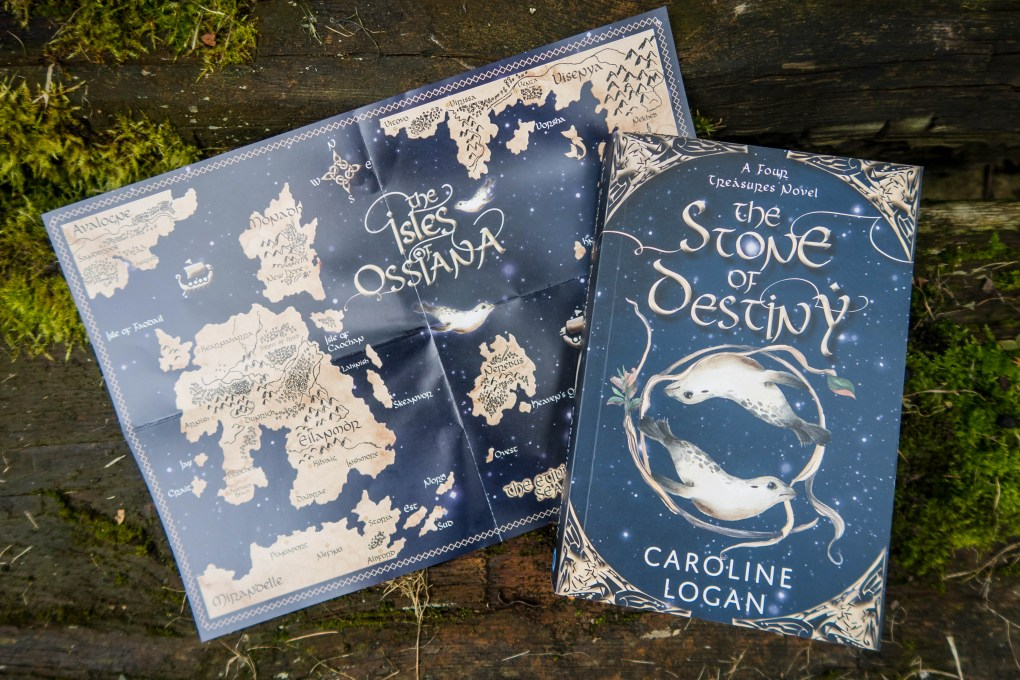 The Stone of Destiny book and map