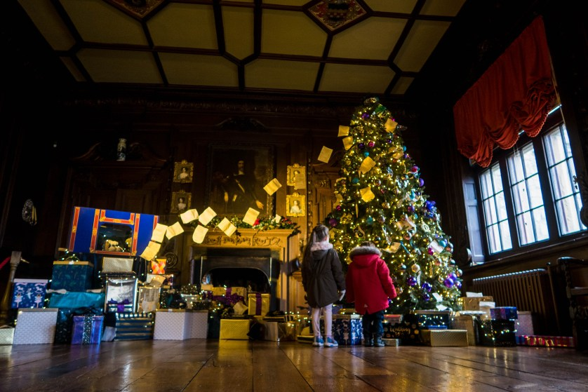 Christmas at Chirk Castle