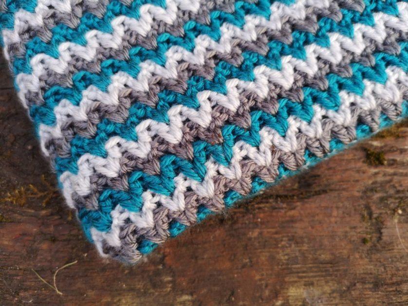 Crochet Baby Blanket – free pattern