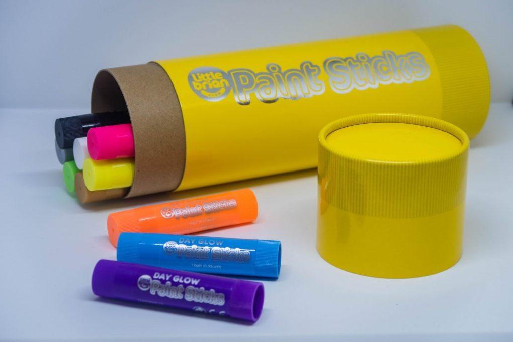 Little Brian Paint Sticks Giant Storage Tube