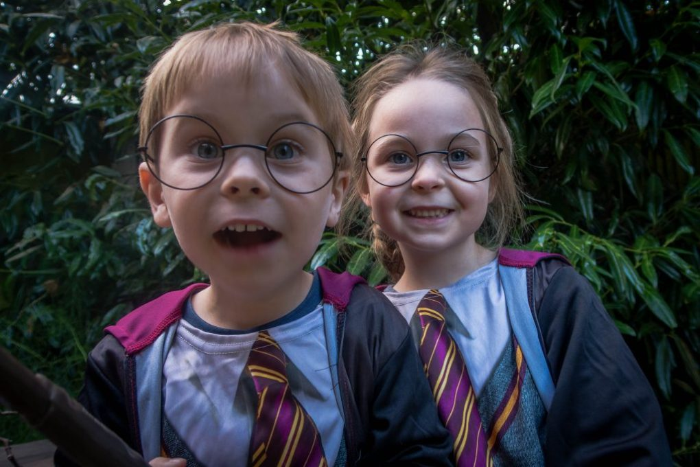 My two little Potter Heads