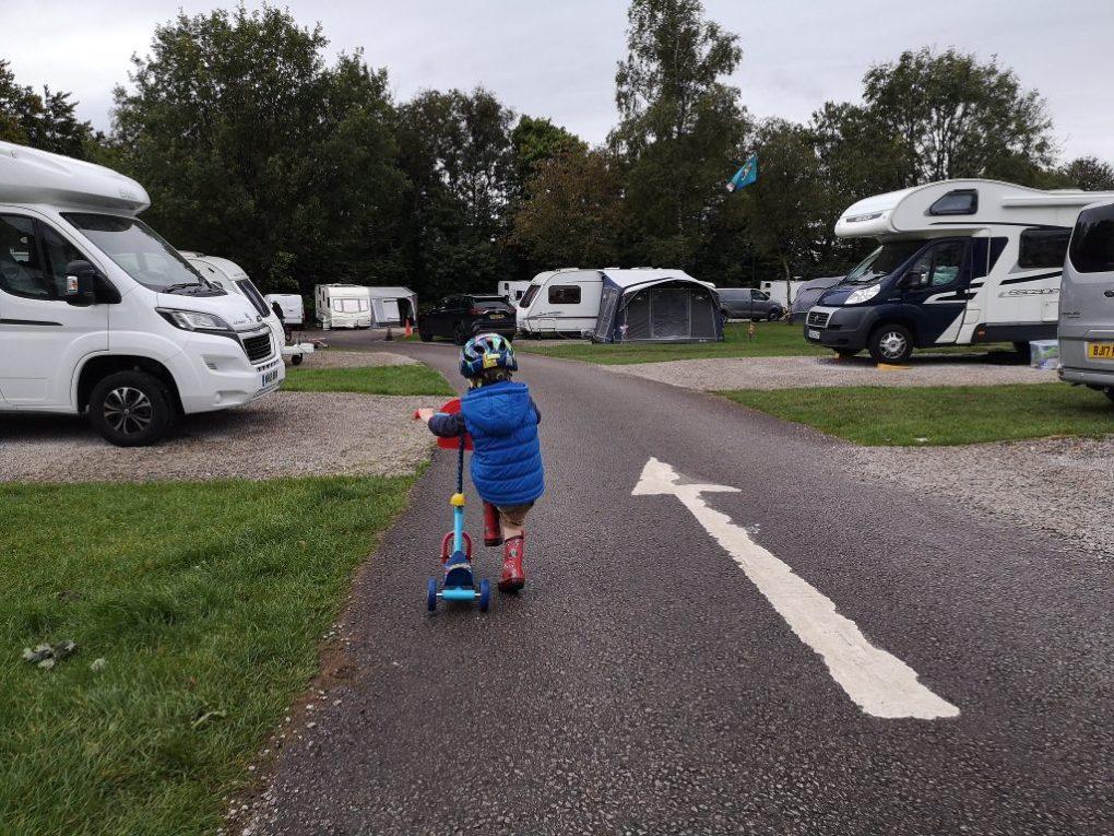 Exploring at the Caravan and Motorhome Club