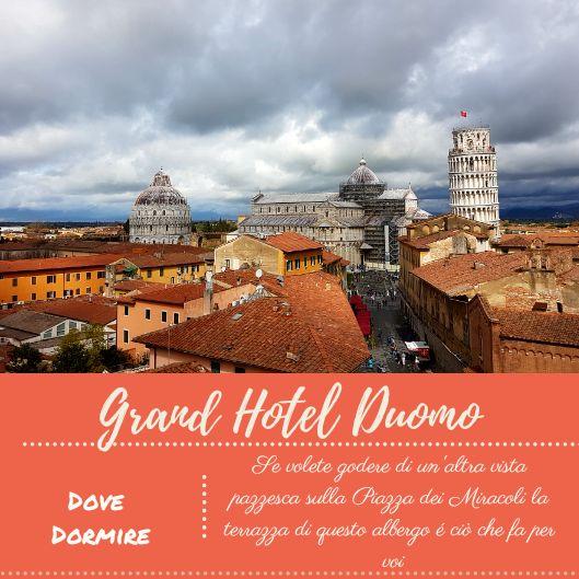 Vista con consiglio Grand Hotel Duomo