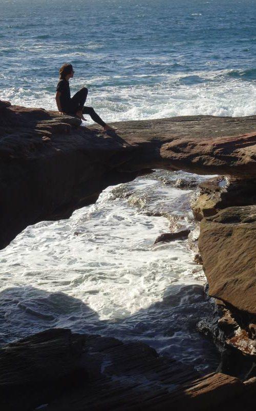 Arco di roccia sull'oceano alla spiaggia Pot Alley nel Parco Nazionale di Kalbarri