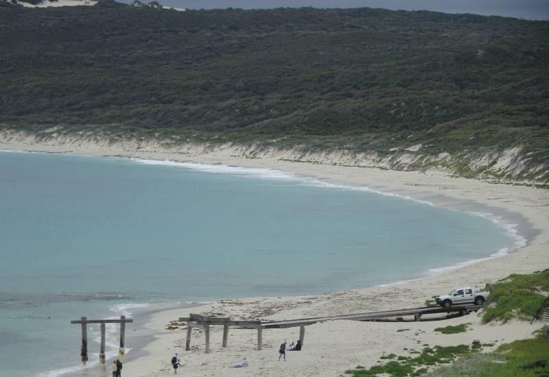 Punto panoramico di Hamelin Bay Beach a Margaret River