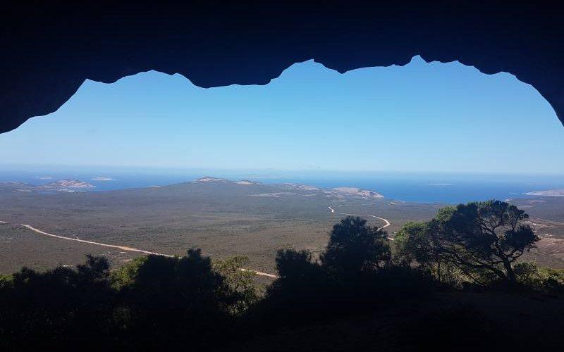 Vista dalla cima del Frenchman Peak nel Parco Nazionale Cape Le Grand a Esperance