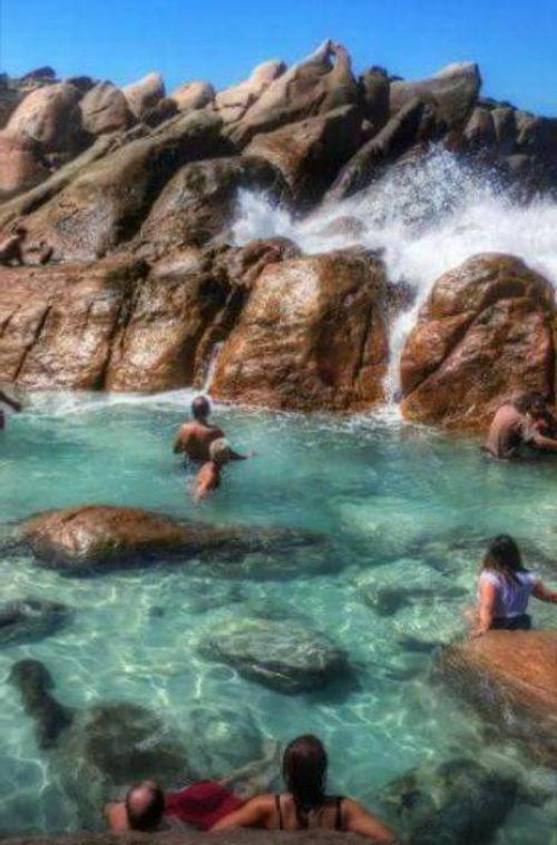 Piscina naturale Wyadub Rocks nel Cape to Cape di Margaret River