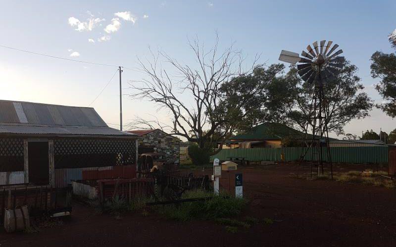 Ghost Town di Gwalia a Leonora in Western Australia