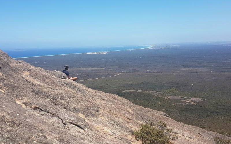 Vista dalla cima del Frenchman Peak dentro il Cape Le Grand