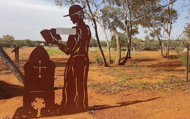 Cimitero di Menzies in Western Australia