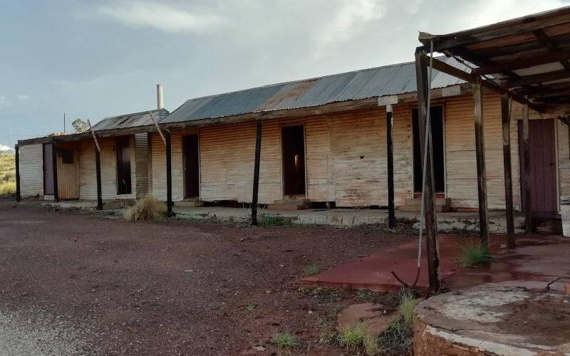 Edifici abbandonati della Ghost Town di Gwalia a Leonora in Western Australia