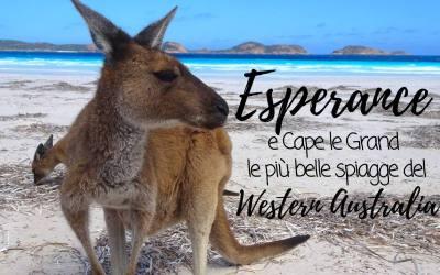 ESPERANCE e Cape le Grand, le più belle spiagge del Western Australia
