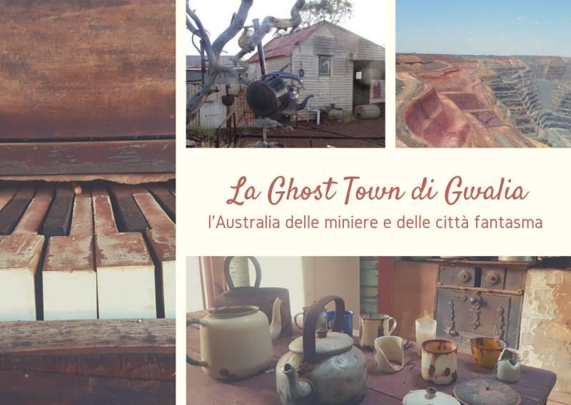 La GHOST TOWN di Gwalia, l'Australia delle miniere e delle città fantasma
