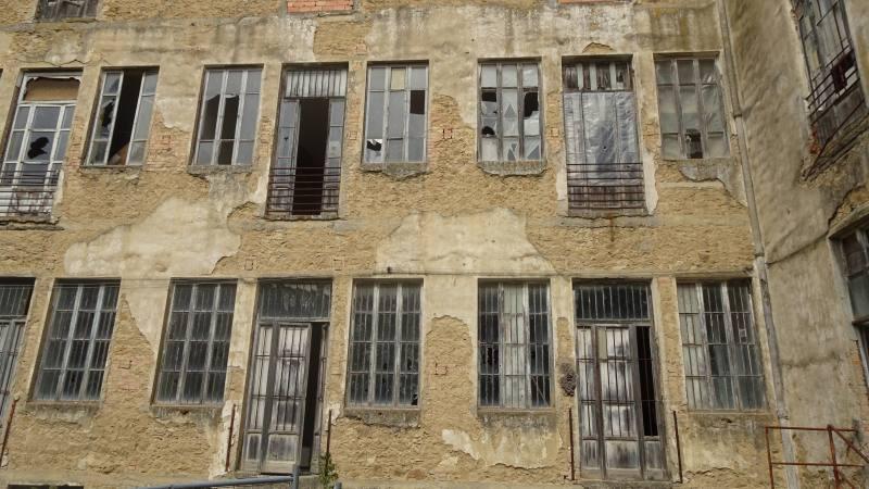 Edifici abbandonati dell'Ex Manicomio di Volterra
