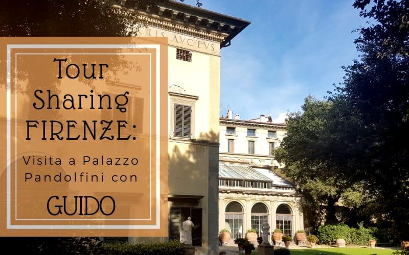 """Copertina aticolo """"Tour Sharing Firenze: visita a Palazzo pandolfini con Guido"""""""