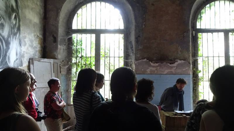 Lettere di Corrispondenza Negata con Gianni Calastri nell'ex manicomio di Volterra