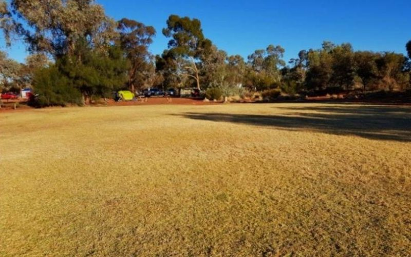 "Campeggio ""Ayers Rock Campground"" a Yulara, vicino Uluru"