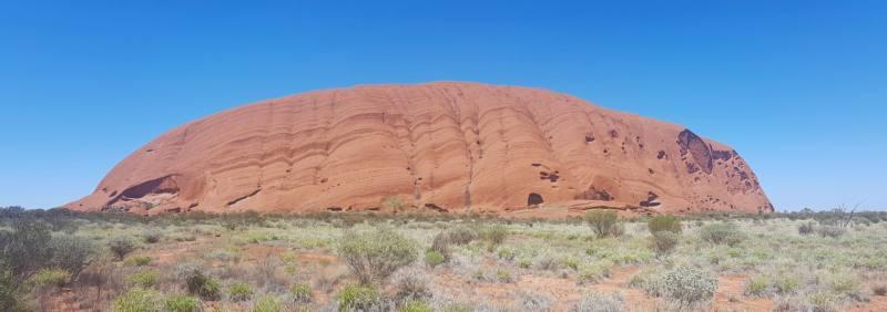 Percorso di trekking Base Walk attorno ad Uluru (Ayers Rock)