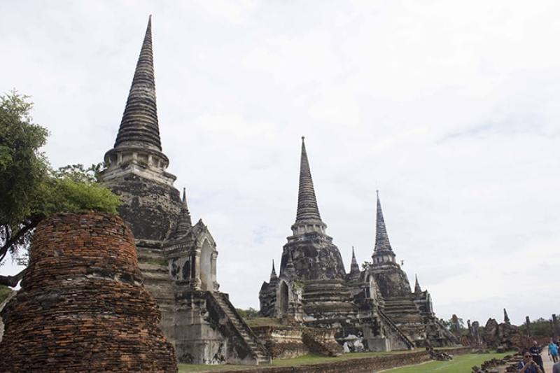 Templi di Ayutthaya in Thailandia