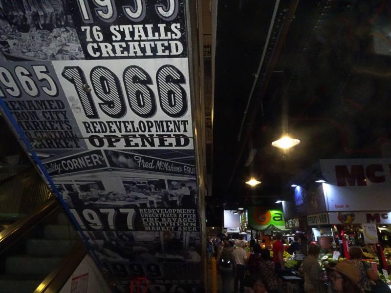 """Interno del Mercato Centrale """"Central Market"""" di Adelaide"""