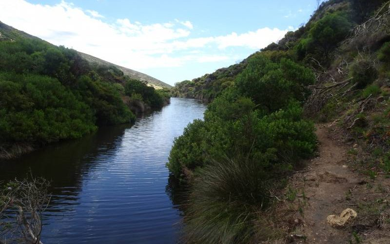 Trekking lungo il torrente del Ravine des Casoars a Kangaroo Island
