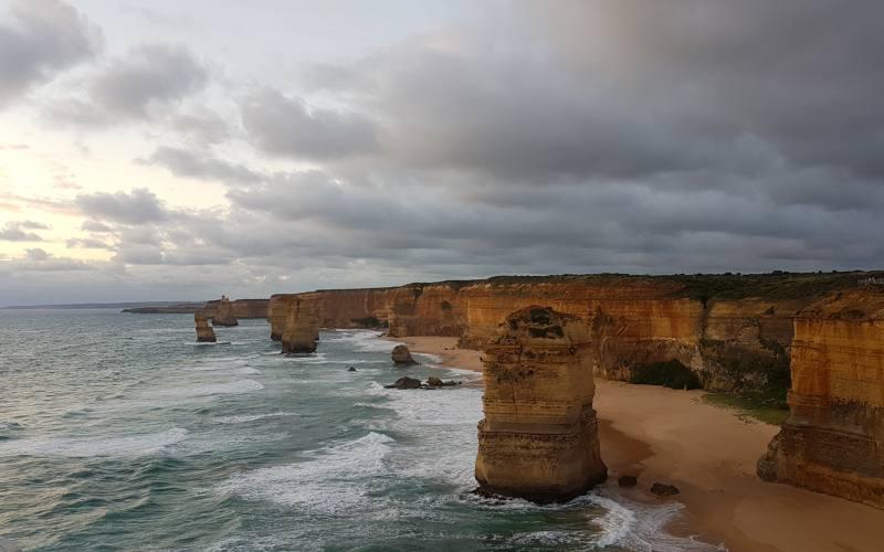 Famoso punto panoramico dei 12 Apostoli lungo la Great Ocean Road in Victoria