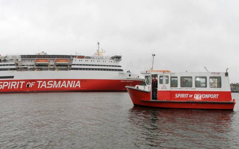 I traghetti Spirit of Tasmania e Spirit of Devonport a confronto