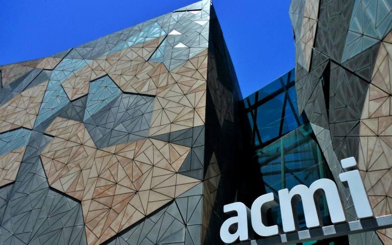 Ingresso del museo ACMI di Melbourne
