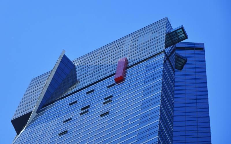 L'Eureka Tower ed il cubo sospeso nel vuoto, il The Edge