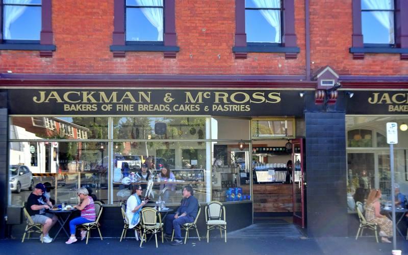 Jackman & McRoss, Bar storico nel quartiere di Battery Point a Hobart, capitale della Tasmania