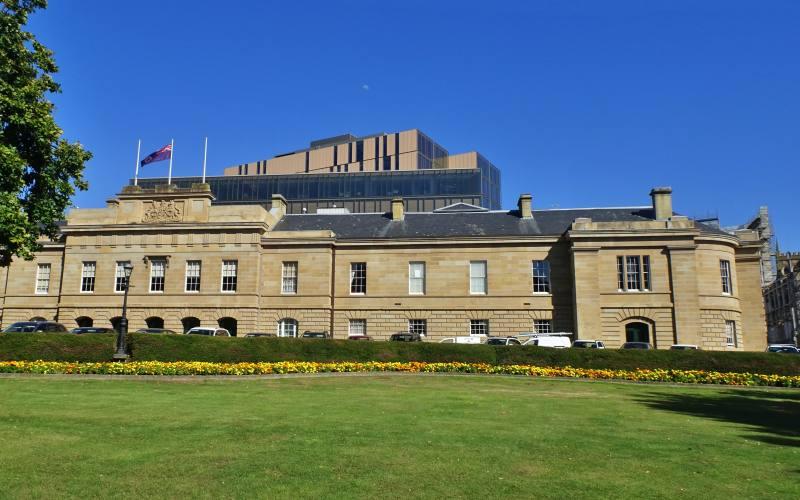 """""""Parliament House"""", il Parlamento della Tasmania in Hobart"""