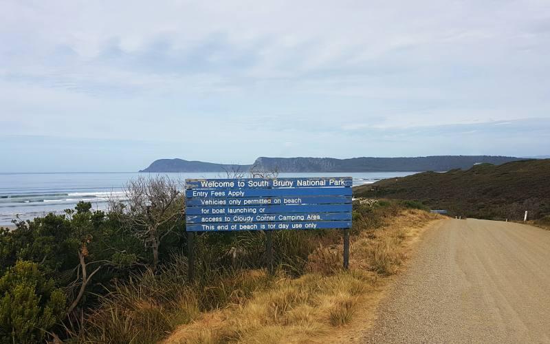 """Ingresso (a pagamento) al """"South Bruny National Park"""", il Parco Nazionale di Bruny Island"""