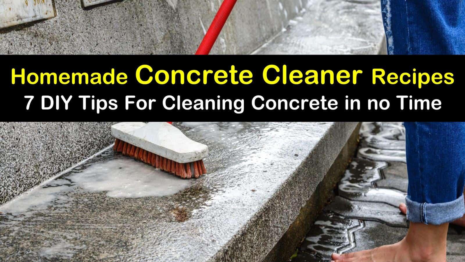 homemade concrete cleaner recipes 7