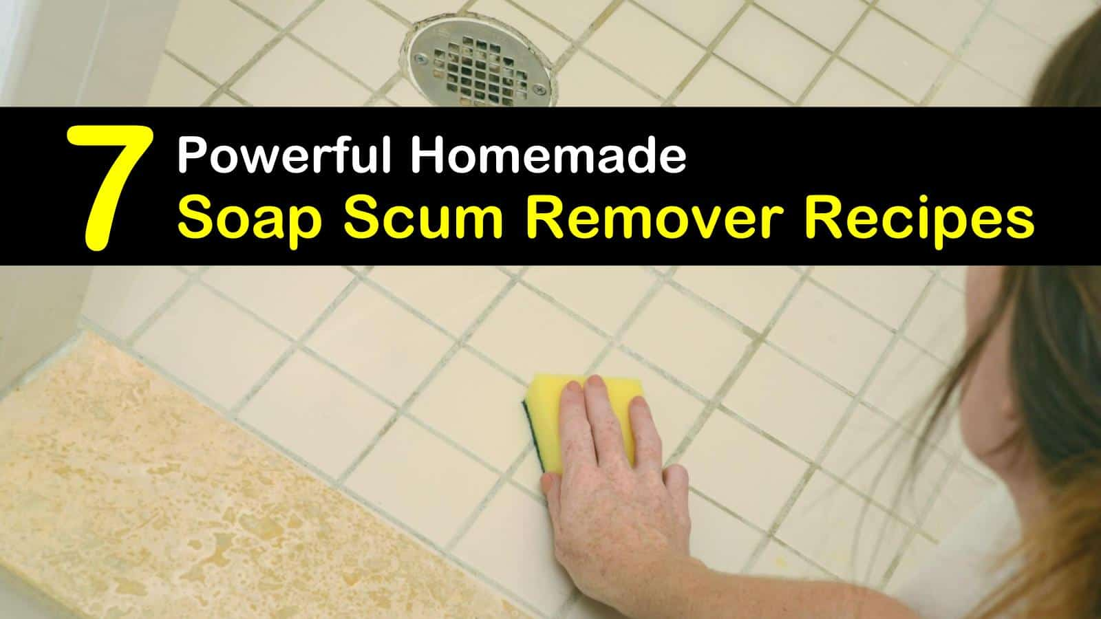 7 simple make your own soap scum removers