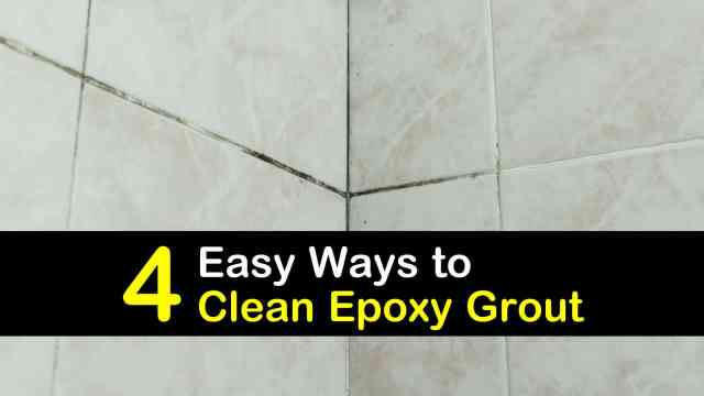 24 Easy Ways to Clean Epoxy Grout