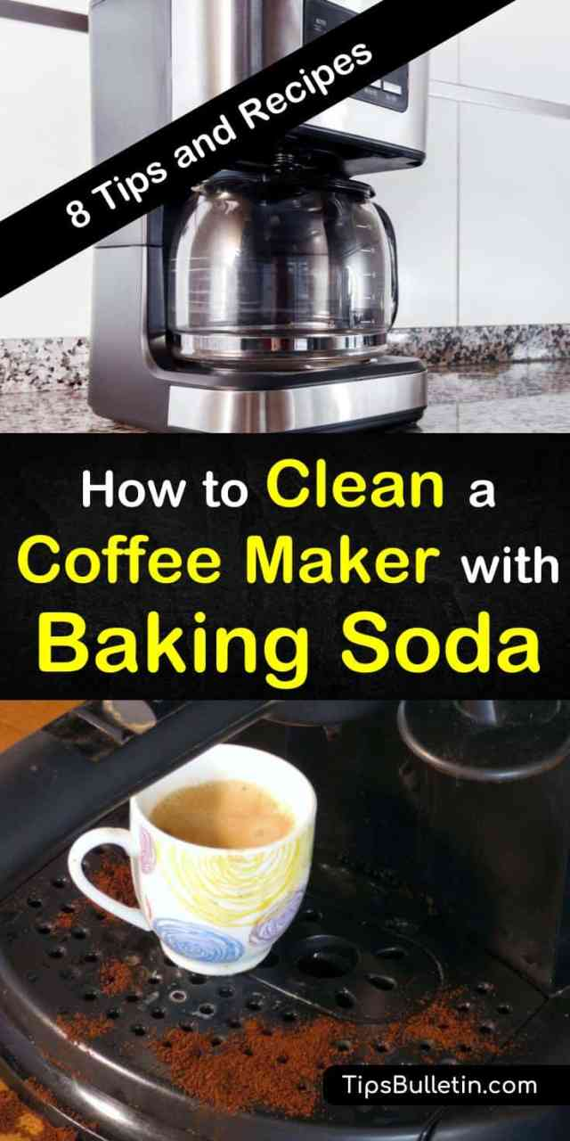 24 Fast Ways to Clean a Coffee Maker with Baking Soda