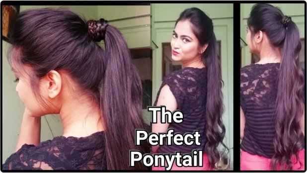 Easy and quick Ponytail hairstyles for work
