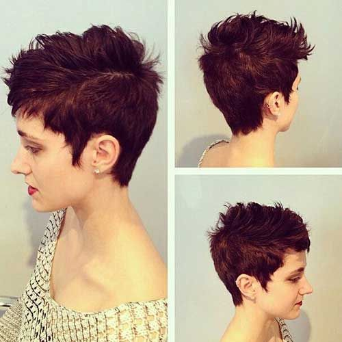 Messy Textured Pixie Haircut