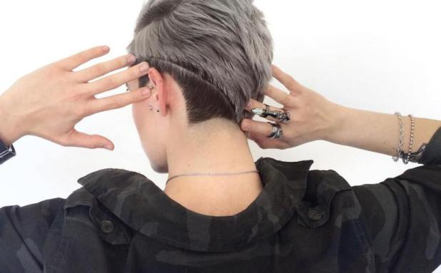 Tomboy Look Hairstyle