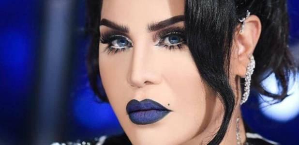 Wearing Blue Makeup