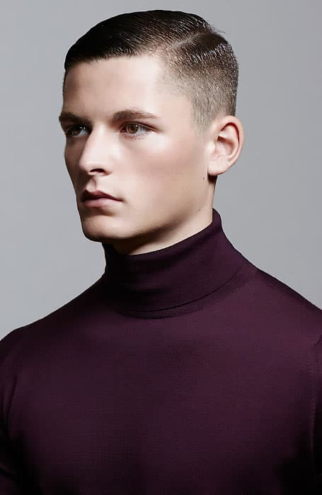 High and Tight with Side Part