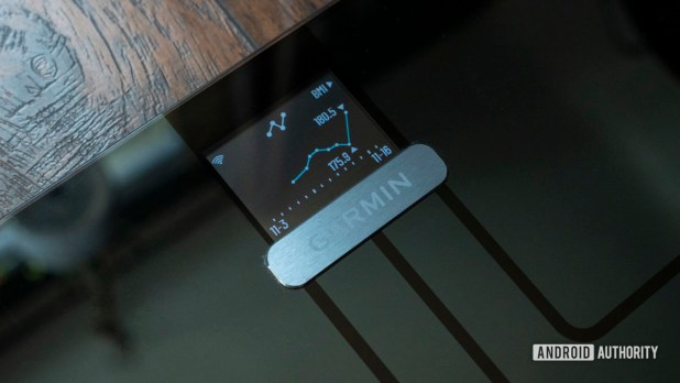 garmin index s2 smart scale review 30 day weight trend
