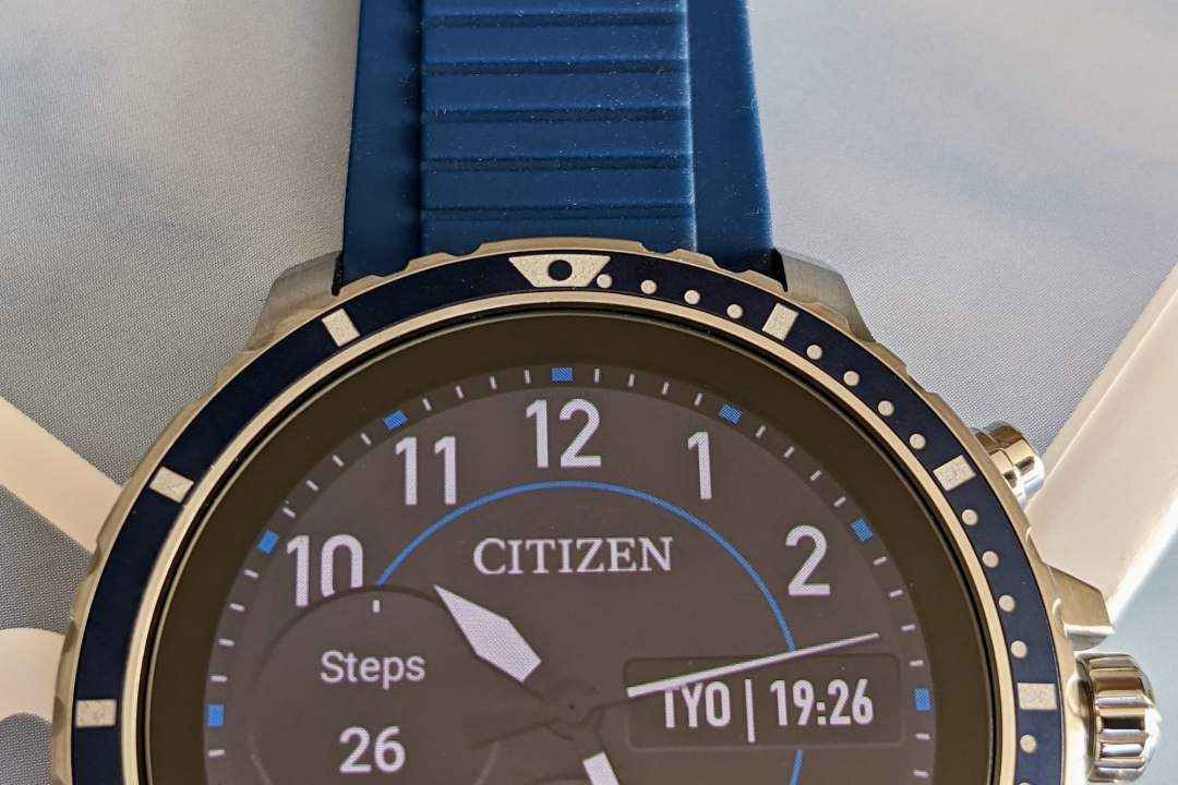 citizen cz smart bezel