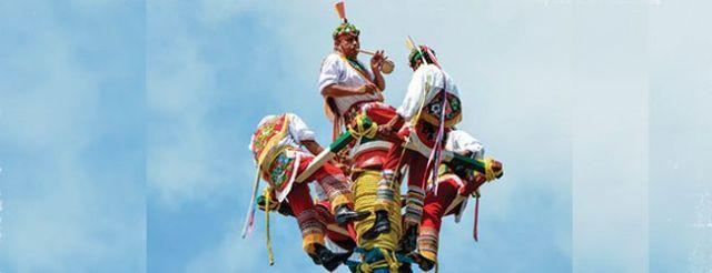 danza de los voladores, papantla, tradicion mexicana