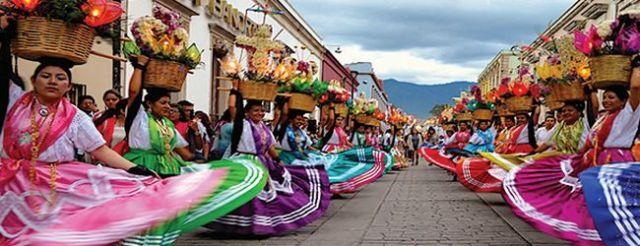 la guelaguetza, tradicion de mexicana